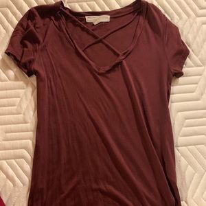 Urban Outfitters Soft V-neck Tee